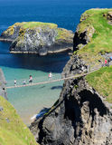 Carrick-a-Rede Rope Bridge Stock Photography