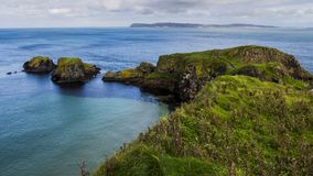 Carrick a Rede. Rope Bridge Northern Ireland , Great Britain stock photography