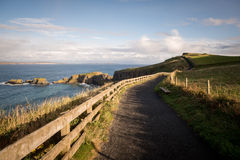 Carrick-a-Rede Rope Bridge, Northern Ireland Royalty Free Stock Images