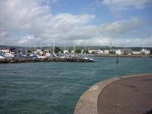 Carrickfergus, Северная Ирландия Стоковое фото RF