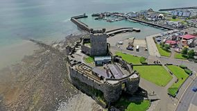 Carrickfergus Castle Στοκ Φωτογραφίες