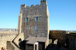 Carrickfergus Castle Στοκ Εικόνες