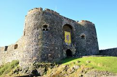 Carrickfergus Castle Στοκ εικόνα με δικαίωμα ελεύθερης χρήσης