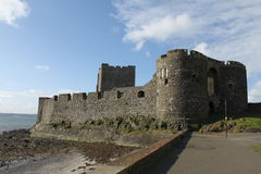 Carrickfergus Castle Stock Image