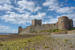 Carrickfergus Castle, Northern Ireland. Royalty Free Stock Images