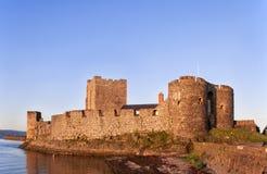 Carrickfergus slott Royaltyfri Bild