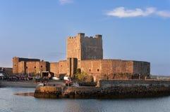 Carrickfergus slott Royaltyfria Foton