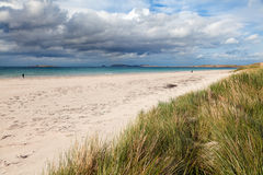 Carrickfinn sandy beach, Ireland Stock Image