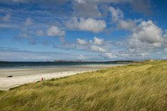 Carrickfinn strand Co Donegal Irland royaltyfria foton