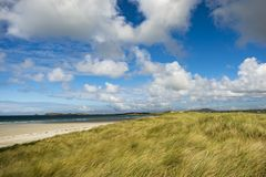 Carrickfinn strand Co Donegal Irland royaltyfri foto