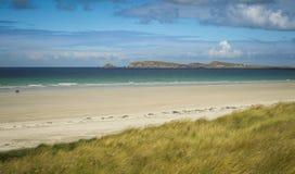 Carrickfinn strand Co Donegal Irland royaltyfri fotografi