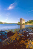 Carrickkasteel, loch Goil, Schotland Royalty-vrije Stock Fotografie