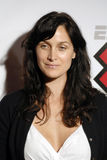 Carrie Ann Moss on the red carpet. For X Games Royalty Free Stock Images
