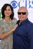Carrie Anne Moss, Michael Chiklis stockfoto