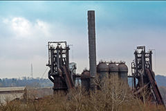 Carrie Blast Furnace Landscape Royalty Free Stock Photography
