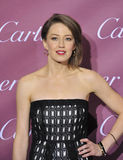 Carrie Coon. PALM SPRINGS, CA - JANUARY 6, 2015: Carrie Coon at the 2015 Palm Springs Film Festival Awards Gala at the Palm Springs Convention Centre Royalty Free Stock Image