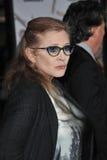 Carrie Fisher stockbild