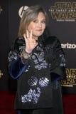 Carrie Fisher lizenzfreie stockfotos