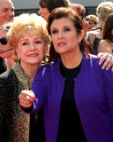 Carrie Fisher, Debbie Reynolds foto de archivo