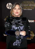 Carrie Fisher. HOLLYWOOD, CA - Carrie Fisher at the World premiere of 'Star Wars: The Force Awakens' held at the TCL Chinese Theatre in Hollywood, USA on Stock Photos