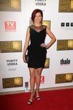 Carrie Preston nas concessões bem escolhidas da televisão dos segundos críticos anuais, Beverly Hilton, Beverly Hills, CA 06-18-12 foto de stock