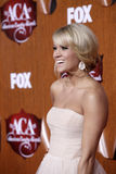 Carrie Underwood. LOS ANGELES - DEC 5:  Carrie Underwood arrives at the American Country Awards 2011 at MGM Grand Garden Arena on December 5, 2011 in Las Vegas Royalty Free Stock Image