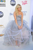 Carrie Underwood. Singer Carrie Underwood arrives at the 2012 Billboard Music Awards held at the MGM Grand Garden Arena Royalty Free Stock Image