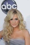 Carrie Underwood bij de Aankomst van de Toekenning van de Muziek van het Aanplakbord van 2012, MGM Grand, Las Vegas, NV 05-20-12 Stock Foto