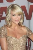 Carrie Underwood. At the 2011 CMA Awards, Bridgestone Arena, Nashville, TN 11-09-11 Royalty Free Stock Images