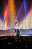 Carrie underwood in Concert Royalty Free Stock Image
