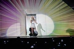 Carrie Underwood im Konzert Stockfotos