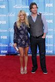 Carrie Underwood and Mike Fisher at the  Stock Image