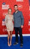 Carrie Underwood, Mike Fisher royalty-vrije stock afbeeldingen
