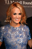 Carrie Underwood. NEW YORK- OCT 22: Recording artist Carrie Underwood attends the T.J. Martell Foundation's 38th Annual Honors Gala at Cipriani's on October 22 Royalty Free Stock Images