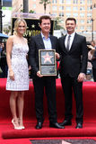 Carrie Underwood, Ryan Seacrest, Simon Fuller Royalty Free Stock Photo