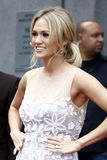 Carrie Underwood, Simon Fuller Royalty Free Stock Photo