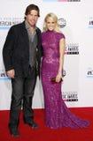 Carrie Underwood und Mike Fisher lizenzfreie stockfotografie