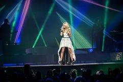 Carrie-Unterholz im Konzert Lizenzfreies Stockfoto