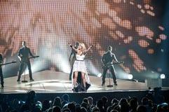 Carrie-Unterholz im Konzert Lizenzfreies Stockbild