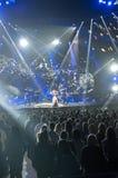 Carrie-Unterholz im Konzert Stockfotografie