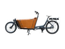 Carrier bicycle for cargo transportation Stock Photo