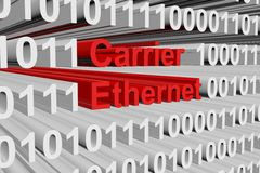 Carrier ethernet Royalty Free Stock Photo