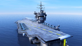 Carrier. Image of carrier and sea Stock Images