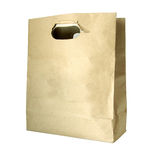 Carrier Paper Bag Brown Stock Photos