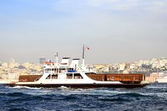Carrier ship Royalty Free Stock Photos