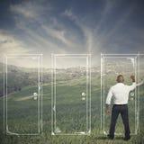 Carriera ed opportunità Immagini Stock Libere da Diritti
