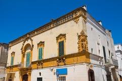 Carrieri slott Fasano Puglia italy Arkivbild