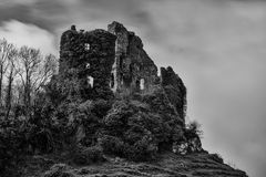 Carrigogunnell城堡1 免版税库存照片