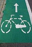 Carril 3 de la bici imagenes de archivo