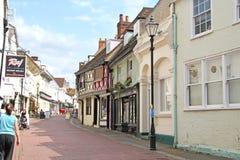 Carril de Faversham Foto de archivo libre de regalías